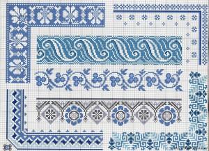 бело -голуба гжель